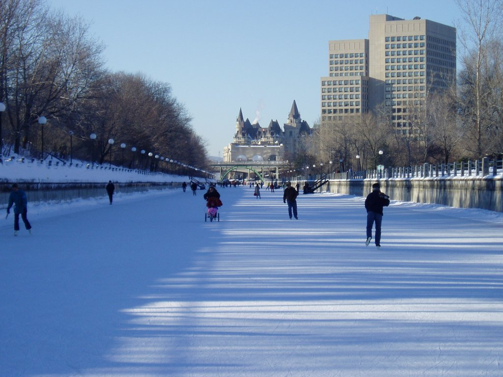 Canal Rideau patinoire