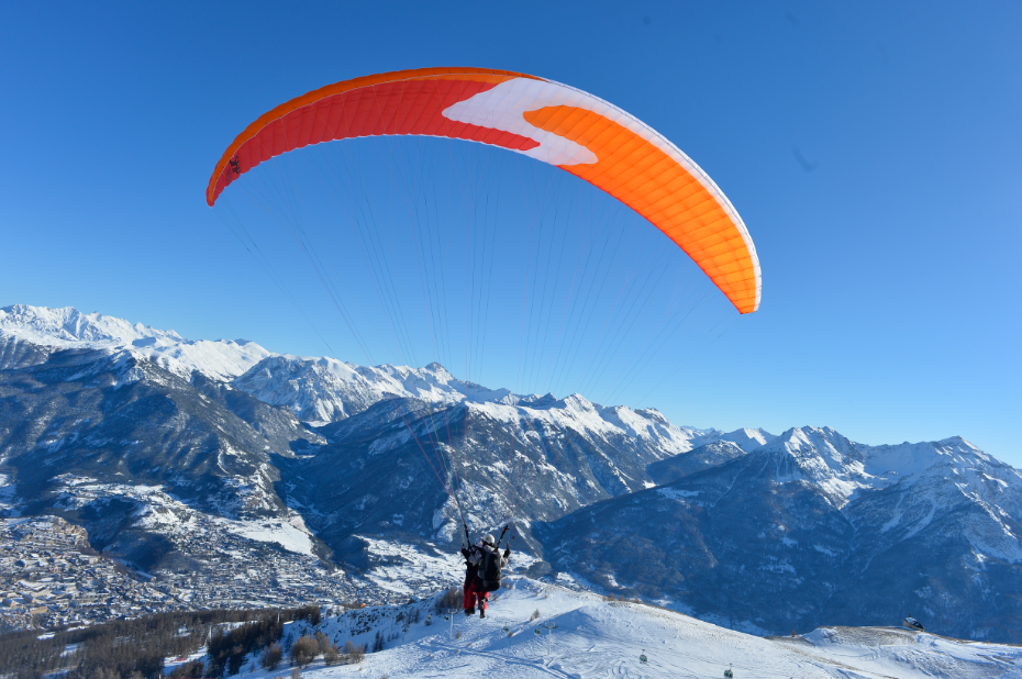 Capture parapente