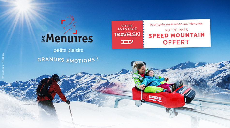 Les Menuires speed mountain