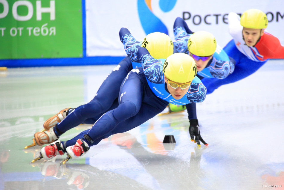 Sport olympiques : le short-track